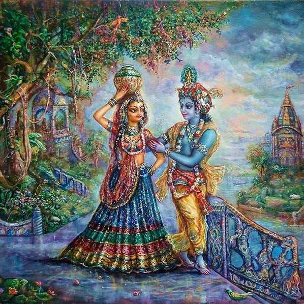 Radha Krishna Love Couple Hd Photo Photosbin
