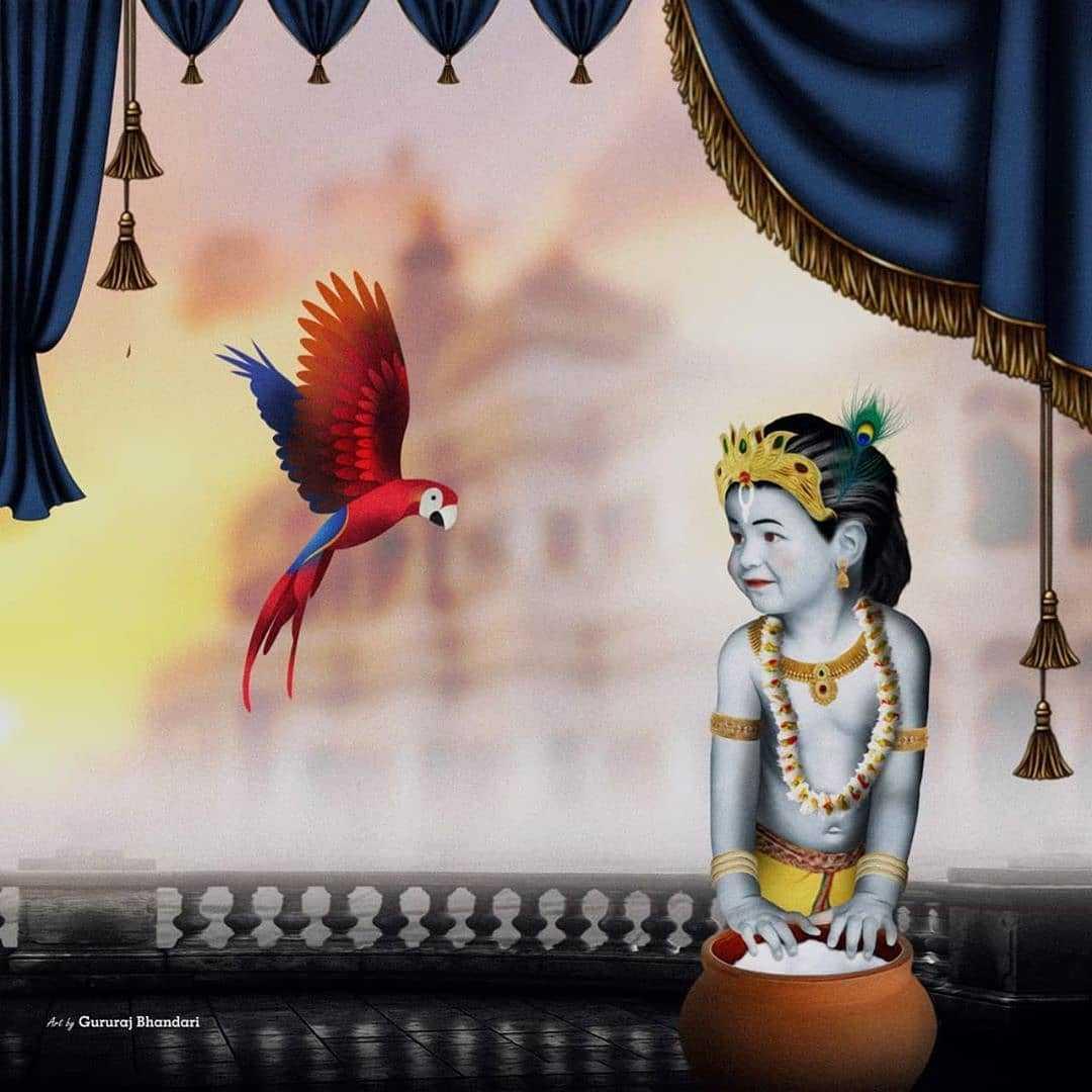 Little Krishna Images HD Wallpapers